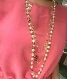 Nuevo 2016 Mujeres de La Manera de La Vendimia de La Joyería Ks Estilo Largo Simulado Perla Collar de Flores de la Cadena Suéter Collares Colgantes X023