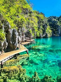 Palawan is at the top of many travel bucket lists these days. - Palawan is at the top of many travel bucket lists these days. Get to know more places, beaches and itineraries. Vacation Places, Dream Vacations, Vacation Spots, Places To Travel, Places To See, Beach Vacations, Beach Hotels, Beach Resorts, Tourist Spots