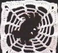 Spooky Spider Square