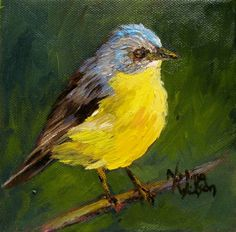 Norma Wilson Bird Art, painting by artist Norma Wilson
