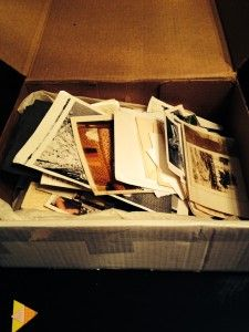 Dealing with a box of family photos - Organize Your Family History