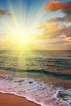 Amazing sunset, peace and joy!