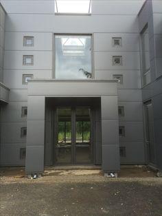 Garage Doors, Glass, Outdoor Decor, Home Decor, Homemade Home Decor, Drinkware, Decoration Home, Yuri, Interior Decorating