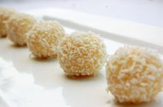 Coconut Brigadeiros... one of my absolute favorites!