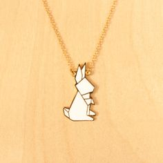 Image Of Origami Necklaces Rabbit