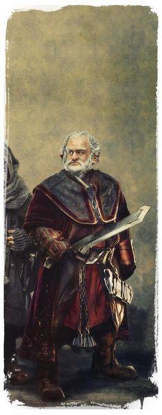 The Hobbit Fan Art Dwarve Dori by Gianfranco Gallo