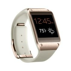 Smartwatch Samsung Galaxy Gear Smartwatch - Retail Packaging - Rose Gold #Smartwatch #Samsung