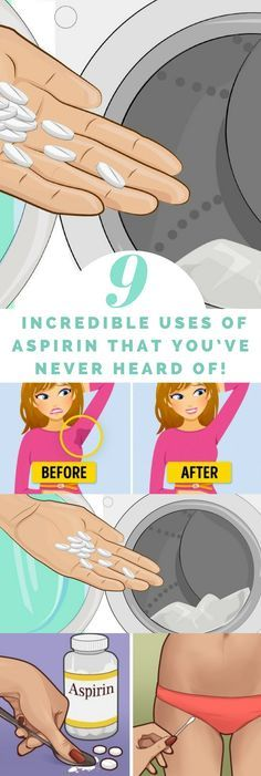 9 Incredible Uses Of Aspirin That You've Never Heard Of…