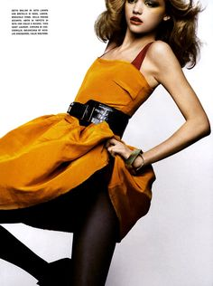 Gemma Ward by Nathaniel Goldberg for Vogue Italia // March 2005