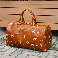 The Travel Bag inspired by Wes Anderson's The Darjeeling Limited
