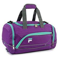 Extra Off Coupon So Cheap Fila Sprinter 19 Sport Duffel Bag Purple/Teal Purple Teal, Purple Bags, Fancy Water Bottles, Mochila Adidas, Best Gym, Academia, Online Bags, Handbag Accessories, Luggage Bags