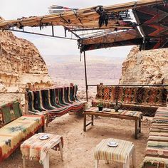 mad props to the Bedouins for making this chill spot. Hikers in Petra stop here along the way to have tea with them above the canyon