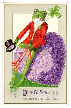 New Year greeting - 1912