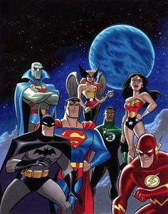 Justice League - Bruce Timm