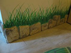Pietre per rivestimenti murali mod. Toscana, colorazione personalizzata, utilizzate come battiscopa. Località: Lendinara (Rovigo).