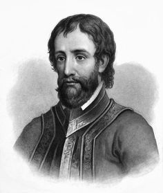 Hernando de Soto - was a Spanish explorer and conquistador who, while leading the first European expedition deep into the territory of the modern-day United States, was the first European documented to have crossed the Mississippi River Conquistador, Scouts, Empire, What Is Today, Down South, Gulf Of Mexico, Mississippi, American History, Alabama