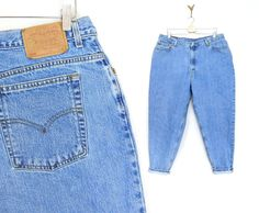 Sz 20 S High Waisted Levi's 550 Jeans  Plus by SadieBessVintage