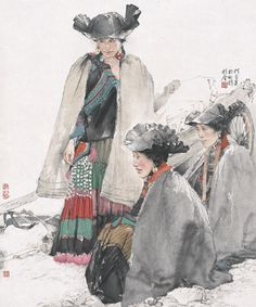 he jiaying lady of ||| contemporary ink art ||| sotheby's cn0021lot8r6rxen