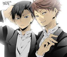 Haikyuu!! - Kageyama & Oikawa ♥