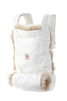 Ergobaby Winter Edition Komforttrage, weiß