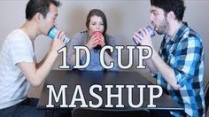 One Direction Cup Song Mashup - What Makes You Beautiful / One Thing / Kiss You. I am not even gonna kid around here. This is ridiculousness! Like you have no idea. WHO has that kind of rhythm? With CUPS! Oh my gosh! Niall Horan, Zayn, One Direction Videos, I Love One Direction, What Makes You Beautiful, Beautiful One, Cup Song, Music Classroom, Have A Laugh