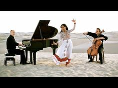 The latest from the Piano Guys.  They are the best!Swedish House Mafia - Don't You Worry Child (Khushnuma) - ft. Shweta Sub...