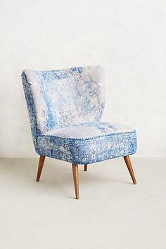 Dhurrie Petite Accent Chair This Anthropologie Moresque Chair is incredibly comfortable. Kiddo and pregnant woman approved. Unique Furniture, Bedroom Furniture, Home Furniture, Furniture Design, Home And Deco, Occasional Chairs, Interiores Design, Decoration, Accent Chairs