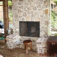 Fireplace On Pinterest Cabin Fireplace Fireplaces And Log Homes