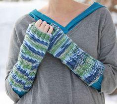 Scottish Loch Fingerless Gloves