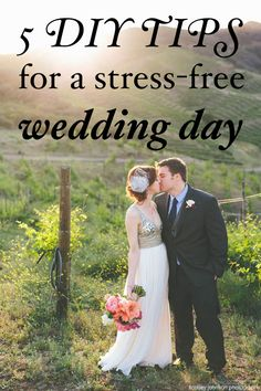 Want DIY wedding touches without stressing yourself out? Make sure you read our tips first!   http://www.weddingpartyapp.com/blog/2014/10/08/diy-dos-and-donts-perfectly-balanced-wedding-day-host-and-toast/