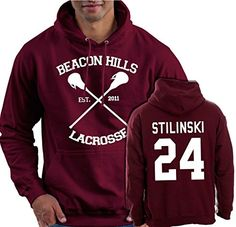 Beacon Hills Front Hoodie STILINSKI 24 Back Hoody Teen Wolf Inspired Fan Jumper Dylan O'Brien Stiles McCall Sizes XS - XXL Top John Plamer INC http://www.amazon.co.uk/dp/B017WB11CU/ref=cm_sw_r_pi_dp_g9JIwb1YEKQZE