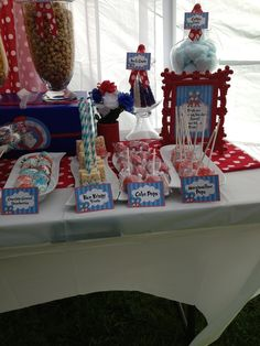 "Photo 1 of 5: Thing 1 Thing 2 / Baby Shower/Sip & See ""Twins"" 