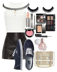"""Untitled #150"" by daenerysmofdragons ❤ liked on Polyvore featuring Balenciaga, Vans, Wet Seal, Burberry, Chanel, NARS Cosmetics, NYX, MAC Cosmetics and Christian Louboutin"
