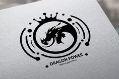 Dragon Power Logo @creativework247