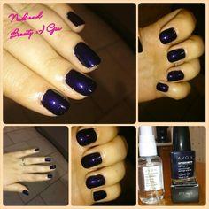 Violet nail - https://nailandbeautygiu.wordpress.com/2014/12/03/violet-nail/