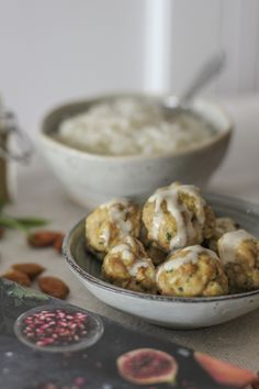 Cook for Syria - Baked chicken and almond meatballs