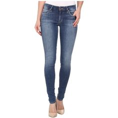 Joe's Jeans Mid Rise Skinny in Catalina Women's Jeans ($169) ❤ liked on Polyvore featuring jeans, color block jeans, frayed skinny jeans, slim leg jeans, tapered jeans and mens jeans