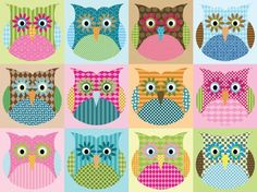 ♥ these owls remind me of someone and make me smile and want to be better :)