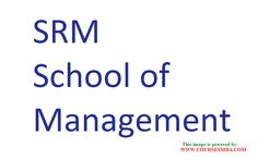 career for engineer with mba - Find career in SRM School of Management details @ http://www.coursesmba.com/