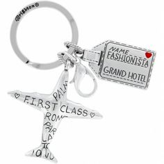 Brighton First Class key fob Ear Abstracts Boutique (714)996-3505 We ship!