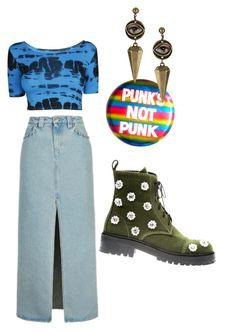 """what if i told you"" by osummeral on Polyvore featuring moda, Topshop ve Anouki"
