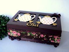 Caixa De Chá Grande 4