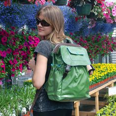 Kathy Backpack + Portable Charger