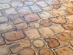 element7 wood floors Reclaimed end grain fir natural