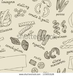 stock-vector-pasta-shapes-seamless-pattern-133053128.jpg (450×470)