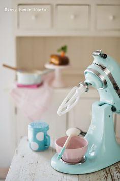Mint Kitchen Aid Baking Tools / Utensilios para Hornear
