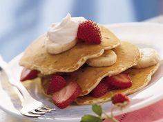 Chocolate Chip-Banana Pancakes