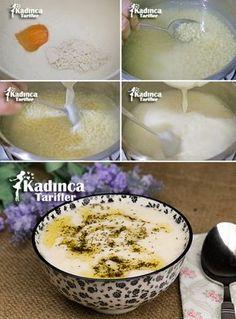 Yoğurtu Kuskus Çorbası Tarifi Soup Recipes, Cooking Recipes, Holiday Program, Turkish Recipes, Homemade Beauty Products, Cute Food, Couscous, Food And Drink, Pudding