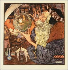 Edmund Dulac — Father Time —1906