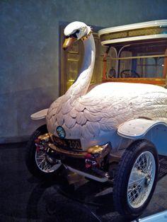 Swan Car, Louwman Museum, Den Haag, Zuid-Holland.